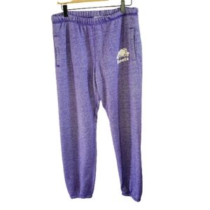Roots purple blend relaxed jogger